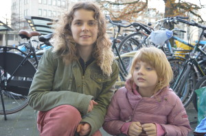 Sarah en Gwen